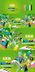 SEB Studenta banka identity by SERZHant