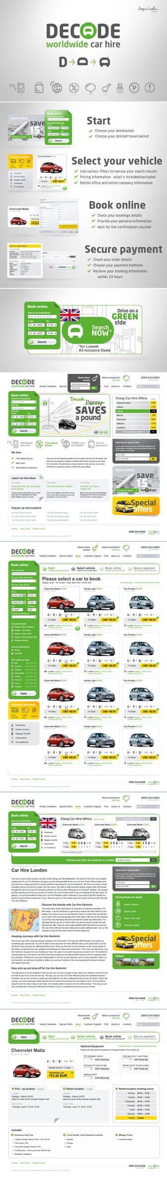 Decode web redesign