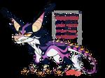 #2 Purple dragondog [ADOPT AUCTION] CLOSED