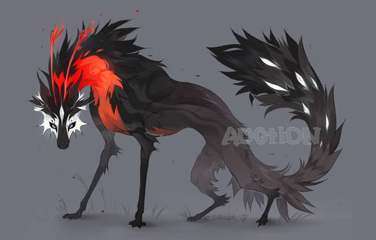 #42 Red-necked beast [ADOPT AUCTION] CLOSED