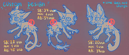 CUSTOM DESIGN [AUCTION OPEN 2/3]