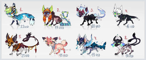 ADOPT PACK #24 [ 1/8 OPEN]