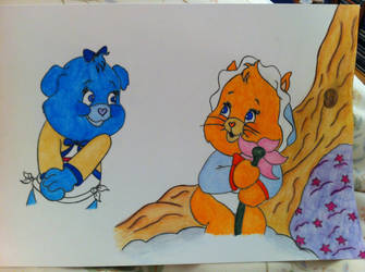 Baby care bears by SarahRA86