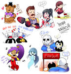 Favorite Indie Games by KarlaDraws14
