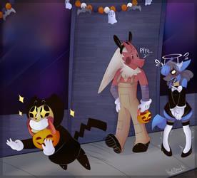 Halloween Night by KarlaDraws14