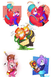 Favorite Cuphead Ships 2 + childs