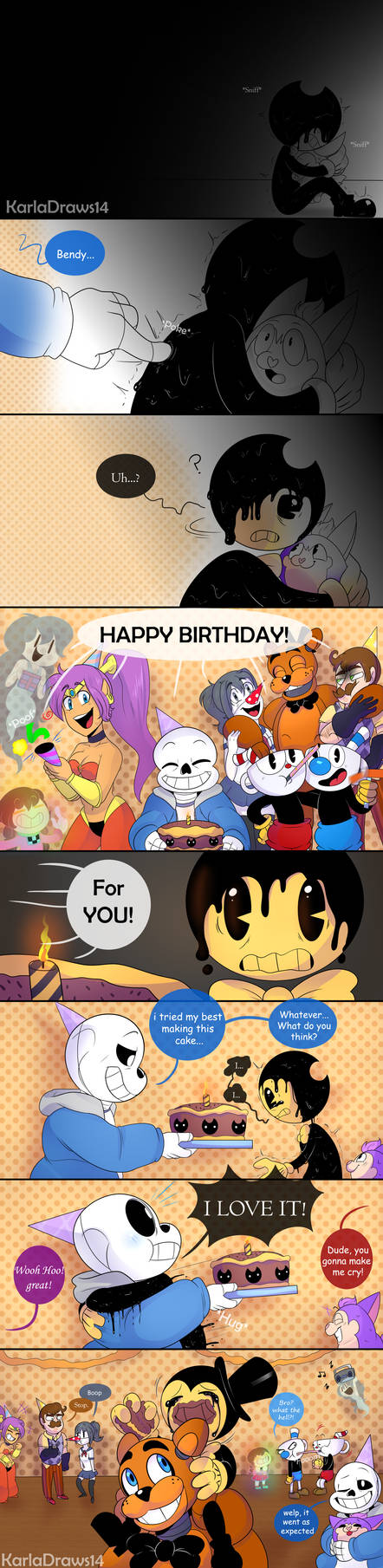 .:Birthday Boy:. by KarlaDraws14