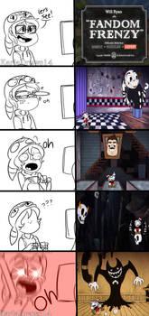 Fandom Frenzy reactions
