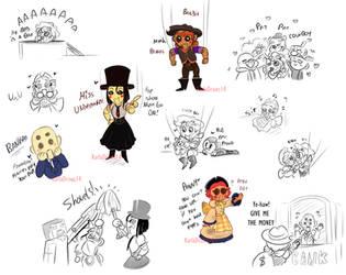 Puppet chibi doodles