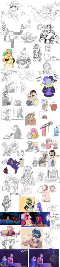 Sketch Dump 8