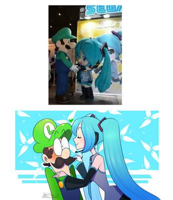 Hatsune n Luigi