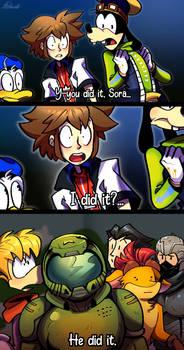 I love you Sora