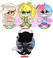 Soda-chii Guest Adopts - 2/4 open by Gingereale