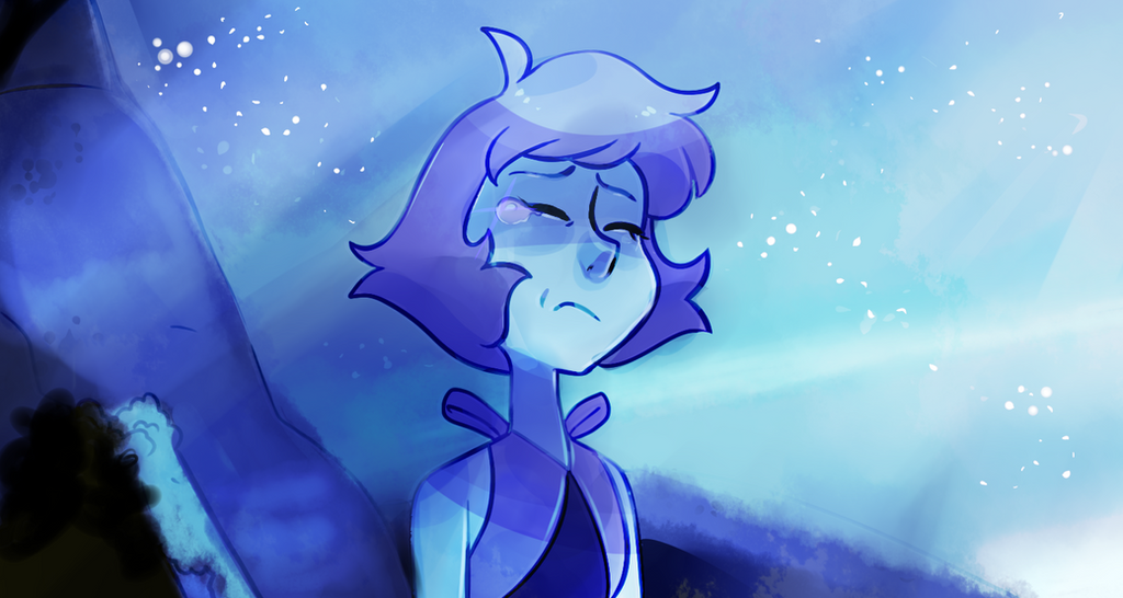 "A screenshot redraw of a scene from ""Reunited"". This episode was everything I've been looking for in Steven Universe for quite some time. Everything was done wonderfully and for once, despite the l..."