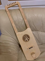 Anglo Saxon Lyre (Ash and Beech)