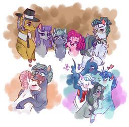 Pinkie's Family.