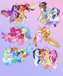 Princessverse ships
