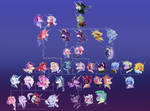 Revampedverse: Sparkle Family Tree.