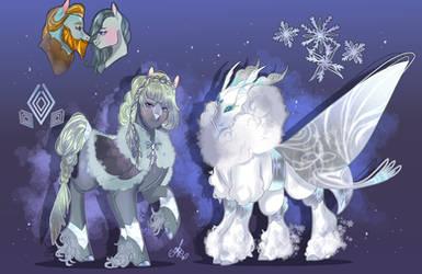-Commission- Snow and diamonds.