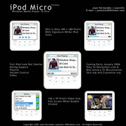 iPod Micro Preview by juanchis