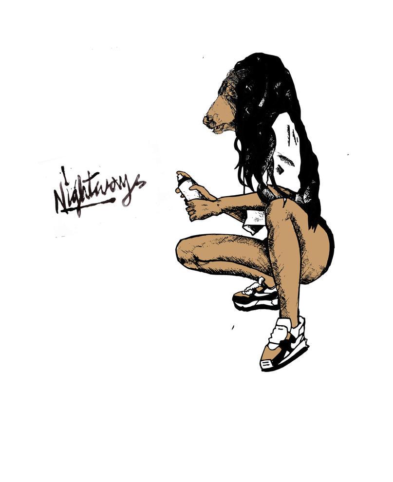 Nightways Girl Tagger by mega-webber on DeviantArt