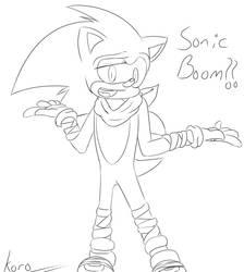 Sonic (Boom Outfit) by clutchkizama