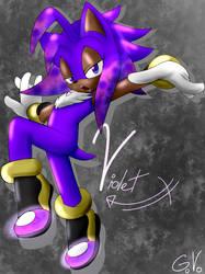Violet The Hedgehog