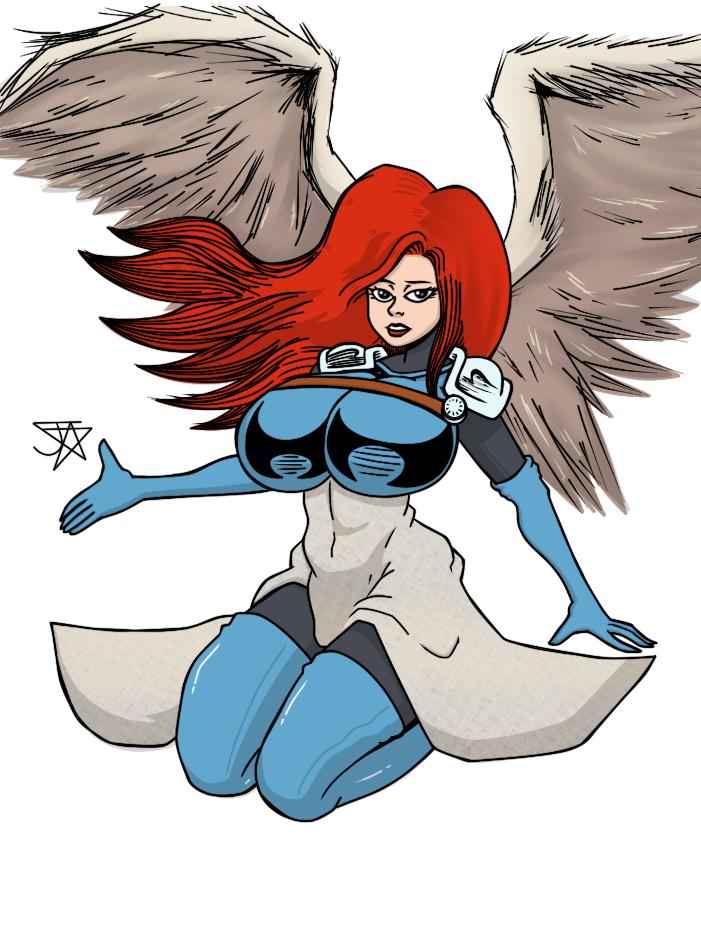 War Angel by Jesse-the-art-maker