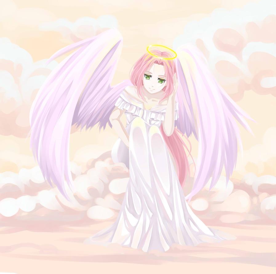 Sakura angel by S-Karina