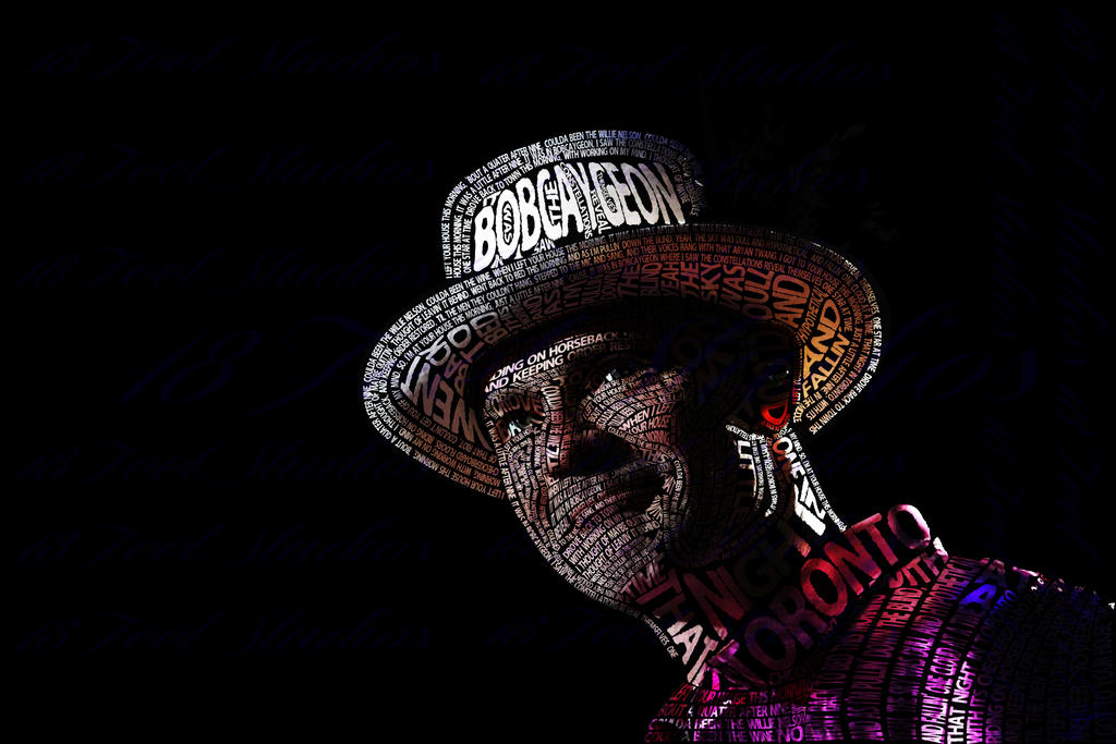 Gord downie typography portrait by lilysmom85 on deviantart Typography portrait