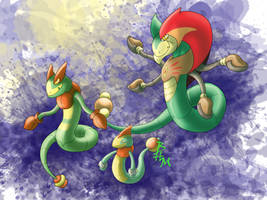 Gorgon Evolution by Bihumi