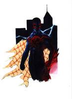 Spider Man 2099 by Bihumi