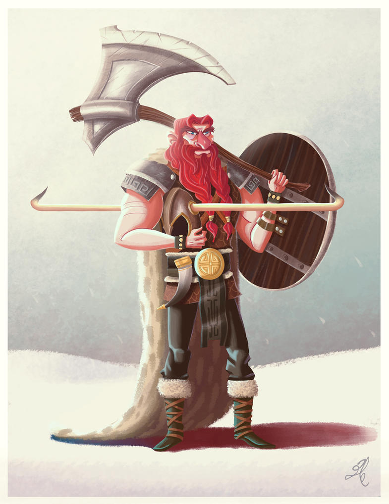Great Viking by yandrk