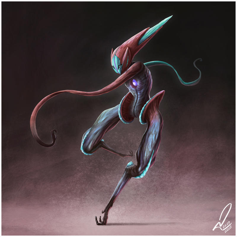 Speed deoxys by yandrk