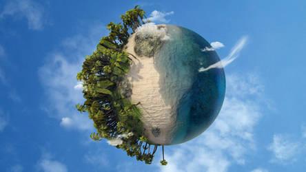 Beach Planet by gajdoslevente