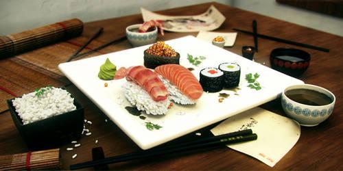 Sushi by gajdoslevente