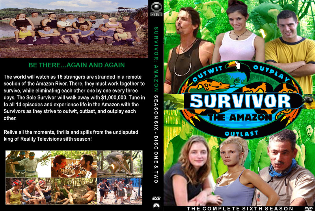 Survivor Amazon DVD Cover by NYC55david
