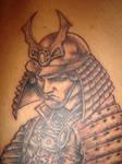 Samurai Tattoo Close Up 1