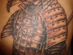 Samurai Tattoo Close Up 2