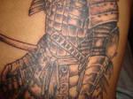 Samurai Tattoo Close Up 3