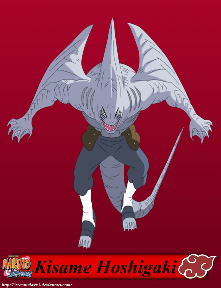Kisame shark by 3xxcanelaxx3 on DeviantArt