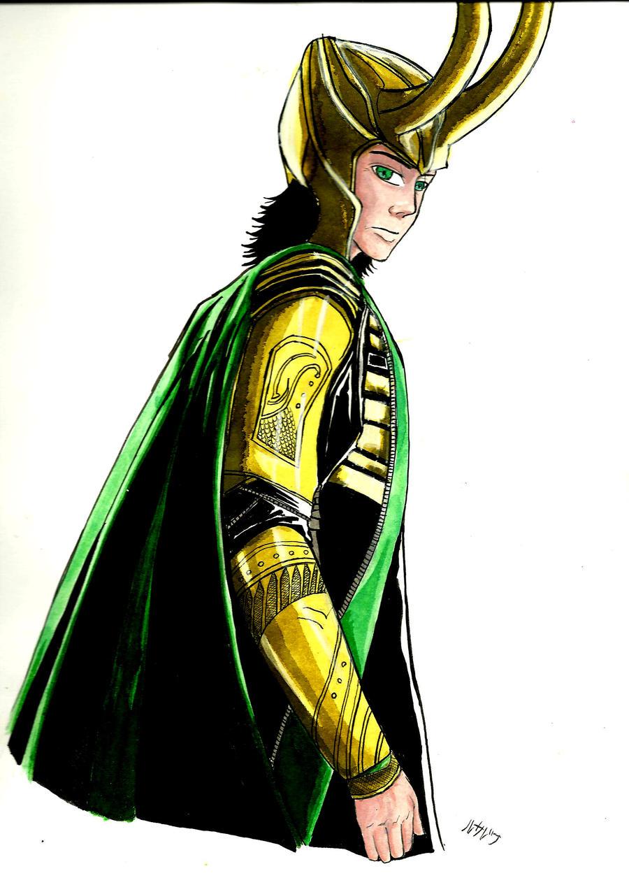 Loki by LedyRaven
