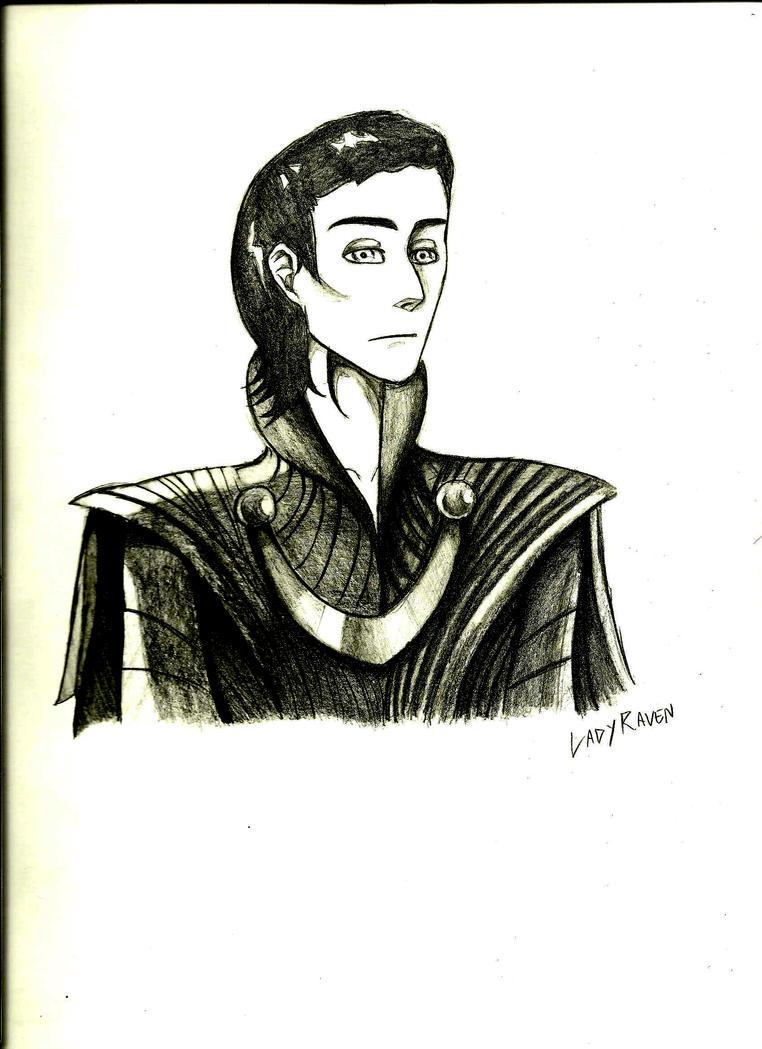 Prince Loki by LedyRaven