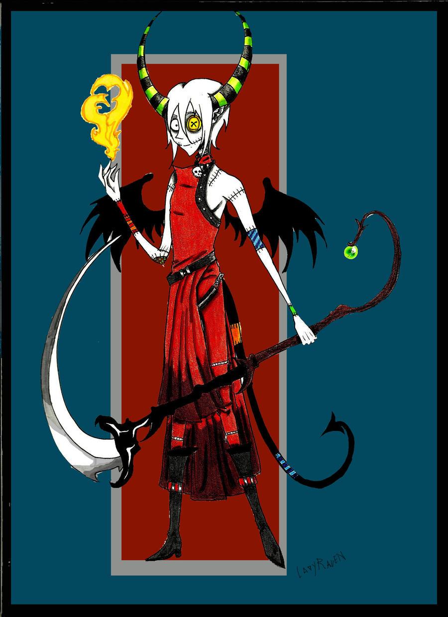 Reaper Demon Doll Male by LedyRaven