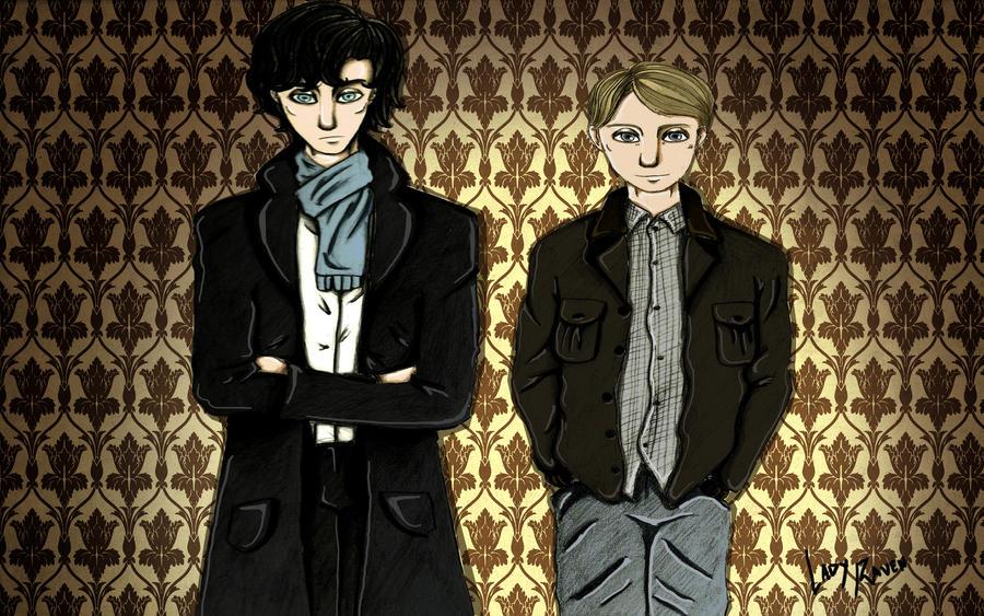 Sherlock e John by LedyRaven