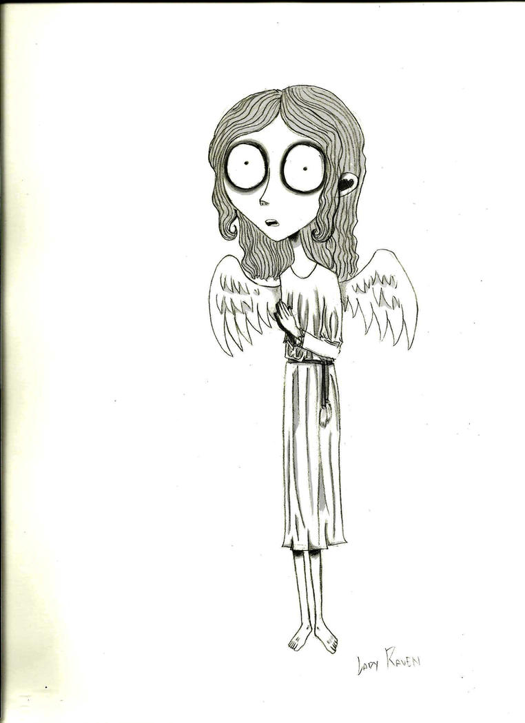 Angel style Tim Burton by LedyRaven