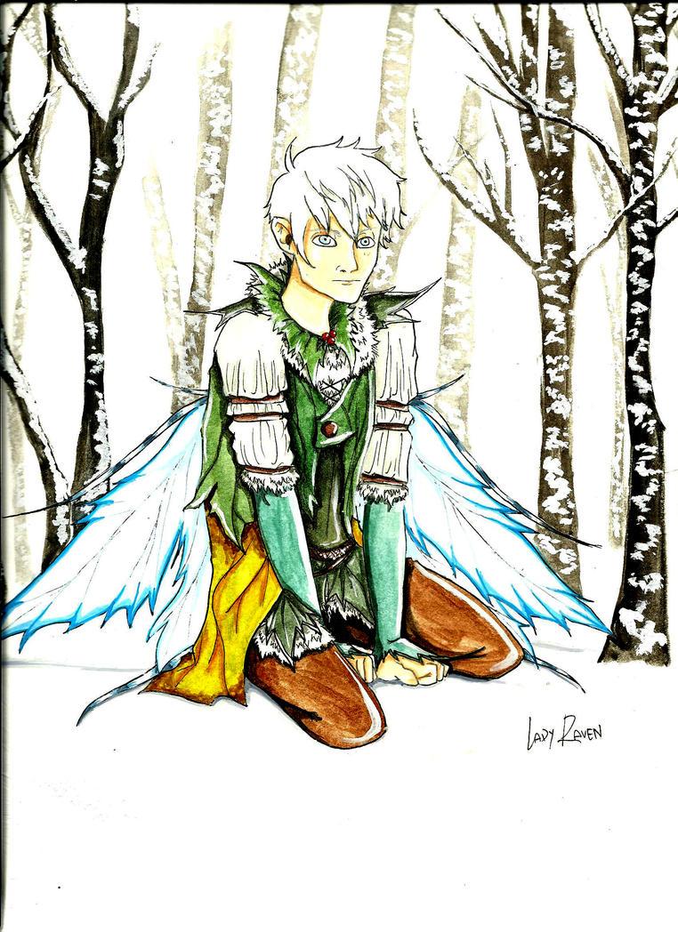 Winter Spirit ( Jack frost ) by LedyRaven