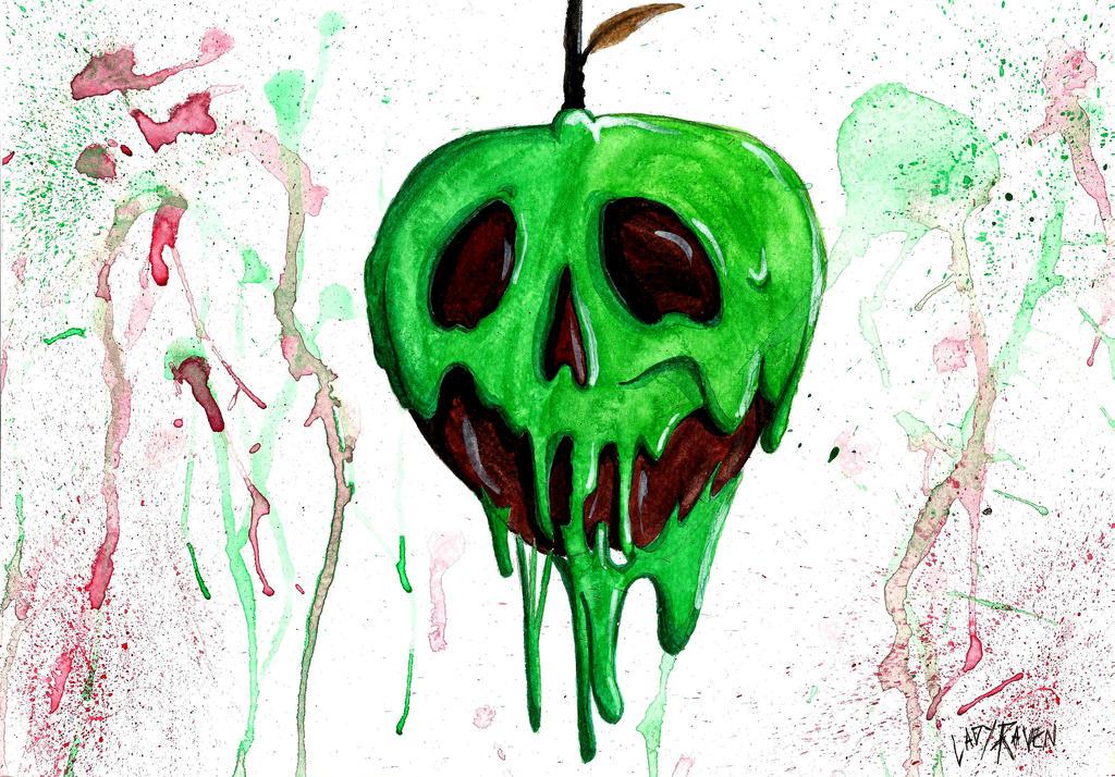 Snow White Poison Apple Disney By LedyRaven On DeviantArt