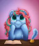 Pegasus that flies only in her dreams