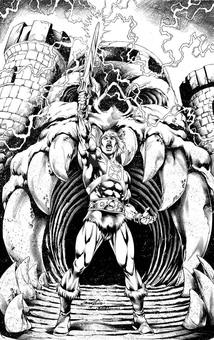 He-man inks by JonasTrindade